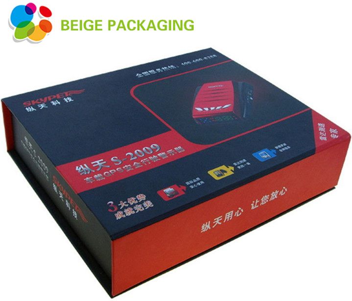 Automotive warning device magnetic packaging box
