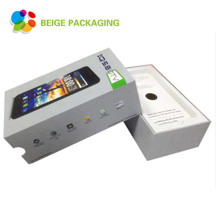 Top quality mobile packaging box with lid