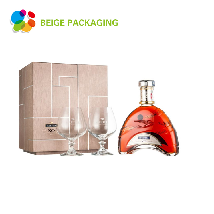 Recyclable custom classical design wine box