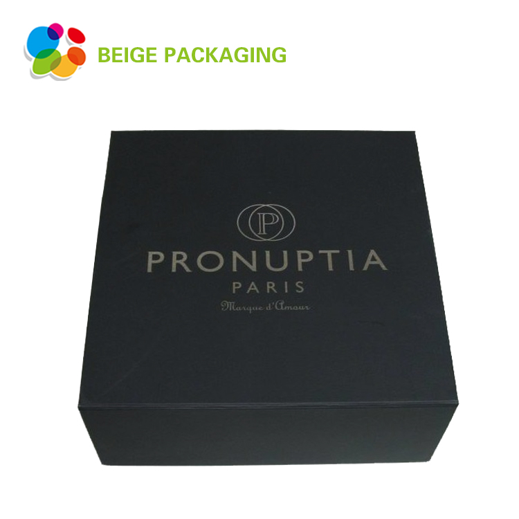 Foldable apparel packaging paper box