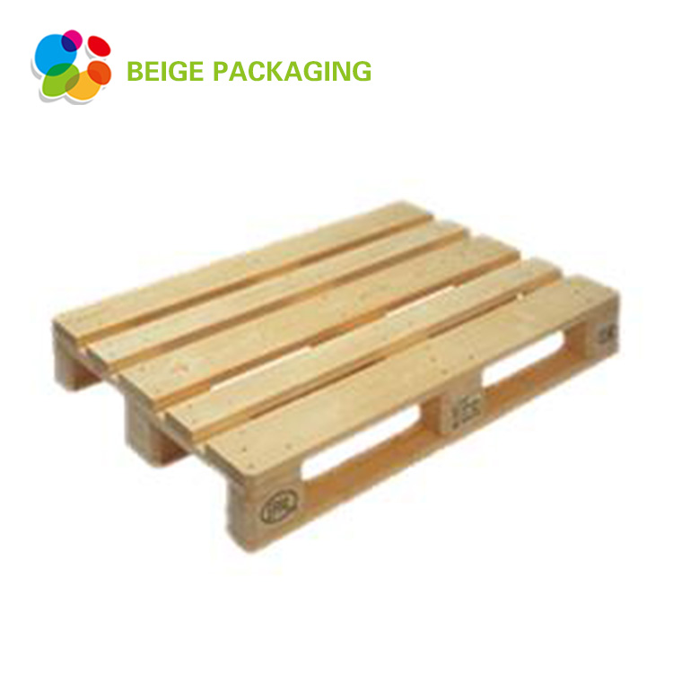Single Faced 4-Way Entry Type Euro Wooden Pallet