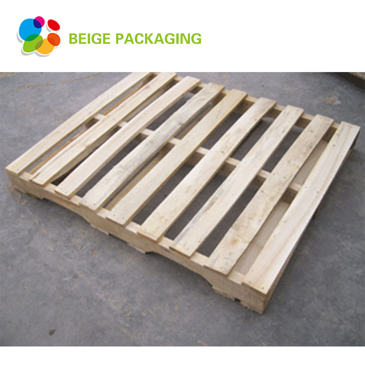 Euro size stackable wooden pallet made in china