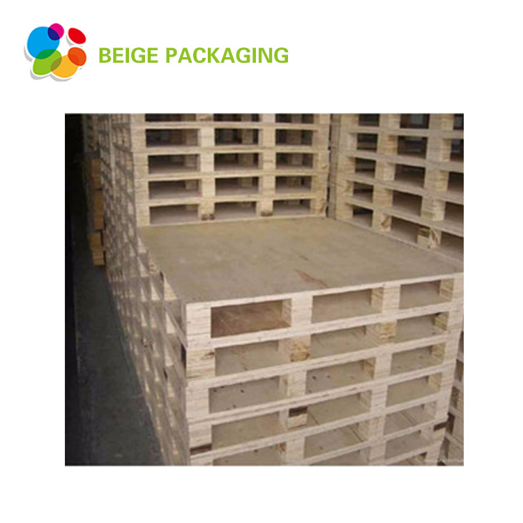 High quality 4-way plywood Euro wooden pallet