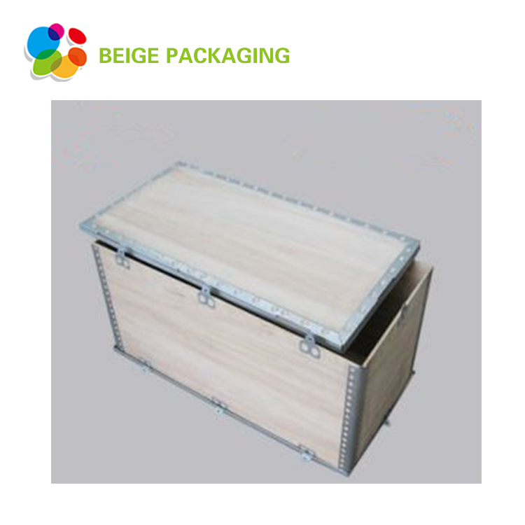 Type P Foldable Wooden Box For Shipping