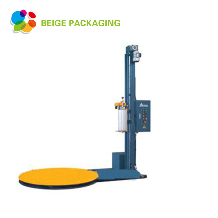 Selling turntable stretch pallet wrapping machine